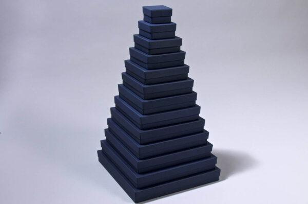 Κουτιά ασημικών μπλε Ύψος 4cm