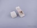 051480 – Κουτί δαχτυλίδι σχισμή εκρού