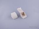 051492 – Κουτί δαχτυλίδι γάντζος εκρού