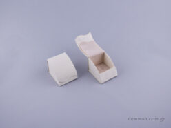 051492 - Box for Ring (with hook) ivory