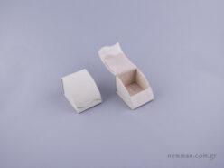 051492 - Κουτί δαχτυλίδι γάντζος εκρού