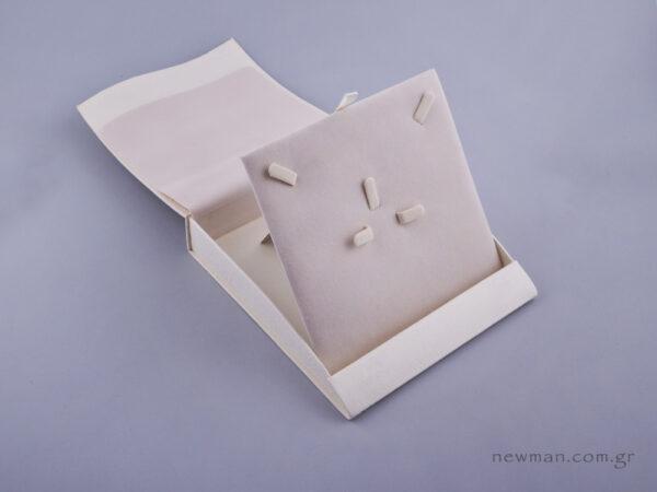 051486 - Κουτί σετ κοσμημάτων (μικρό) εκρού