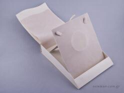 051487 - Κουτί Κολιέ (μεγάλο) εκρού