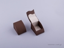 051421 – Κουτί δαχτυλίδι γάντζος καφέ