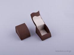 051421 - Κουτί δαχτυλίδι γάντζος καφέ