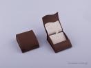 051423 – Κουτί Σταυρός/Σκουλαρίκια καφέ