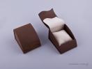 051427 – Κουτί με μαξιλάρι (μικρό) καφέ