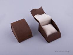 051427 - Κουτί με μαξιλάρι (μικρό) καφέ