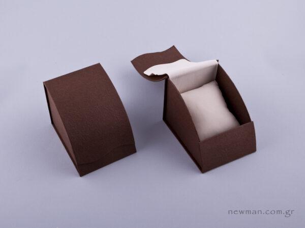 051428 - Κουτί με μαξιλάρι (μεγάλο) καφέ