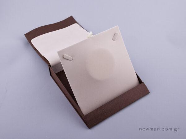 051429 - Κουτί Κολιέ (μικρό) εκρού