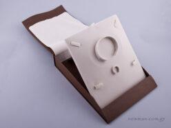 051432 - Κουτί σετ κοσμημάτων (μεγάλο) καφέ