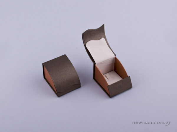 051478 - Κουτί δαχτυλίδι γάντζος πέρλα δίχρωμο