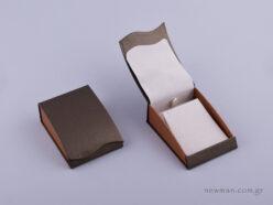 051474 - Κουτί Σταυρός/Σκουλαρίκια πέρλα δίχρωμο