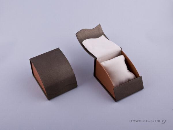 051476 - Κουτί με μαξιλάρι (μικρό) πέρλα δίχρωμο