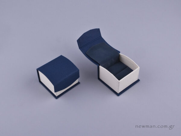 051591 - DRP Κουτί για δαχτυλίδι (σχισμή) μπλε