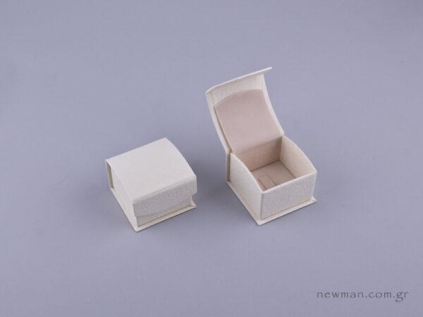 051578 - DRP Κουτί δαχτυλίδι (γάντζος) εκρού