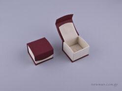 051578 - DRP Κουτί δαχτυλίδι (γάντζος) μπορντώ