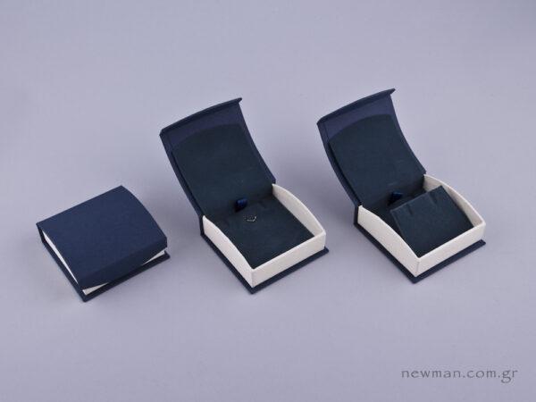 051593 - - DRP Κουτί για Σταυρό/Σκουλαρίκια (μικρό) μπλε