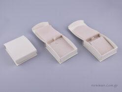 051594 - DRP Κουτί για Σταυρό/Σκουλαρίκια (μεγάλο) εκρού
