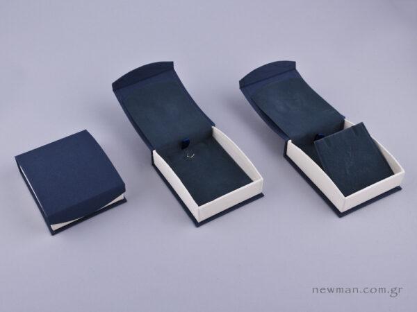 051594 - DRP Κουτί για Σταυρό/Σκουλαρίκια (μεγάλο) μπλε