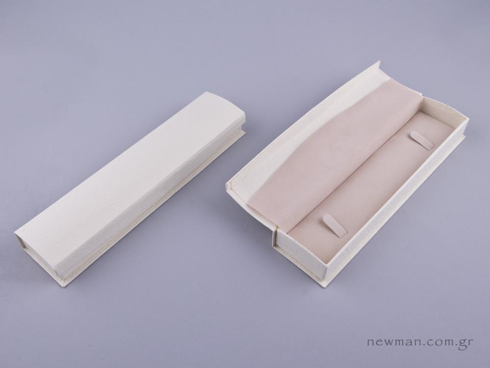 051596 - DRP Κουτί βραχιόλι/ρολόι εκρού