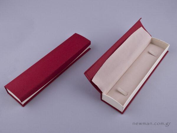 051596 - DRP Κουτί βραχιόλι/ρολόι μπορντώ