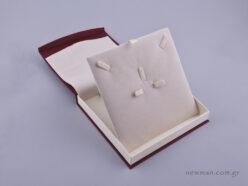 DRP Κουτί για σετ κοσμημάτων (μικρό) μπορντώ