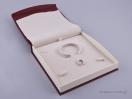 DRP Κουτί για σετ κοσμημάτων (μεγάλο) μπορντώ
