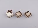 051441 –  Κουτί για Μενταγιόν/Σκουλαρίκια Καφέ