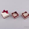 051441 - Κουτί για Μενταγιόν/Σκουλαρίκια Μπορντώ