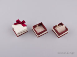 051441 -  Jewellery Box for Pendant/Earrings Burgundy