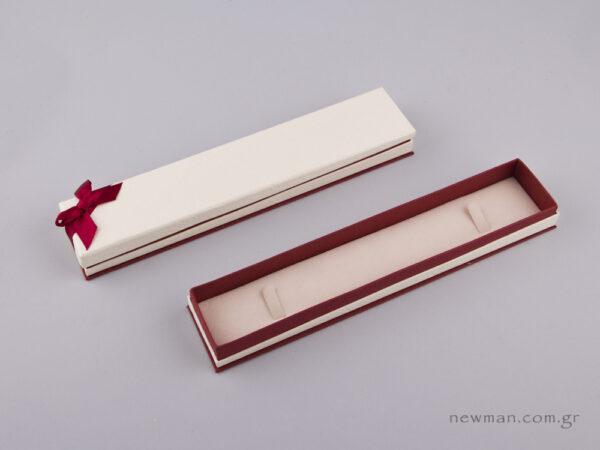 051445 - FSP κουτί για βραχιόλι/ρολόι Μπορντώ
