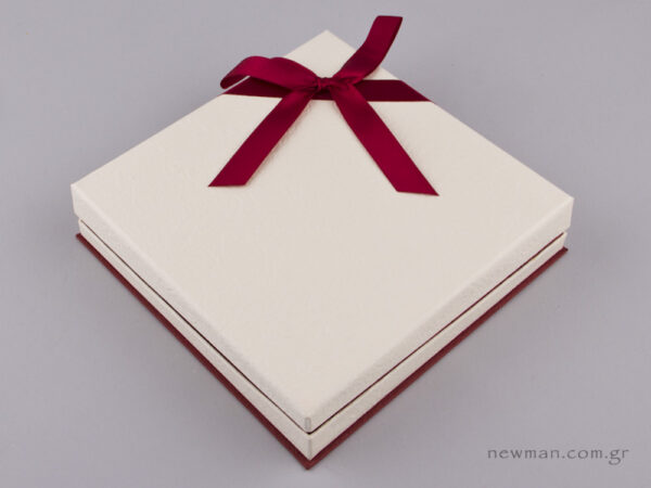 051447 - FSP Jewellery Box for Necklace Burgundy