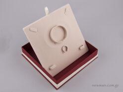 051448 - FSP Jewellery Box for Jewellery Set Burgundy