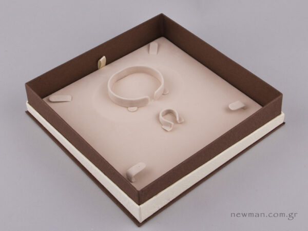 051448 - FSP Jewellery Box for Jewellery Set Brown