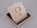 051448 – FSP κουτί για σετ κοσμημάτων Καφέ
