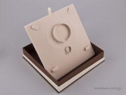 051448 - FSP κουτί για σετ κοσμημάτων Καφέ