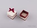 051440 – FSP κουτί δαχτυλίδι Μπορντώ