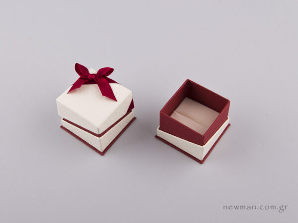 051440 - FSP Jewellery Box for Ring Burgundy