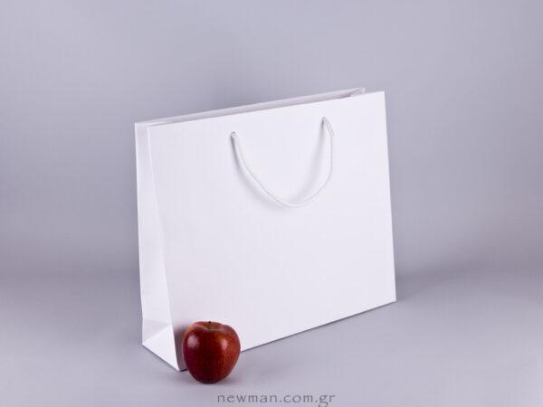 Gofrato χάρτινη τσάντα 38x32cm