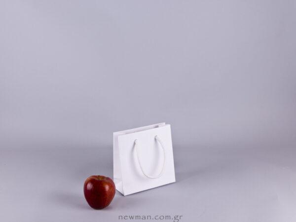 Gofrato χάρτινη τσάντα 15x15cm