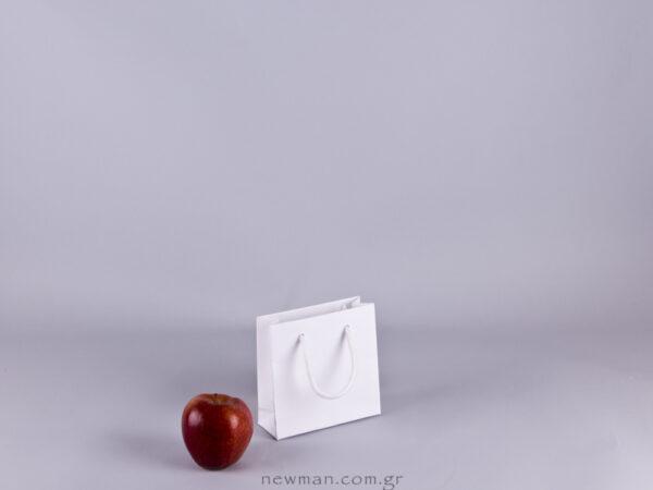 Gofrato χάρτινη τσάντα 13x13cm