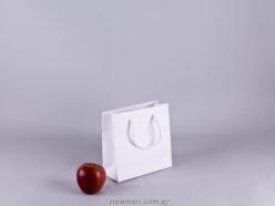 Gofrato χάρτινη τσάντα 18x18cm