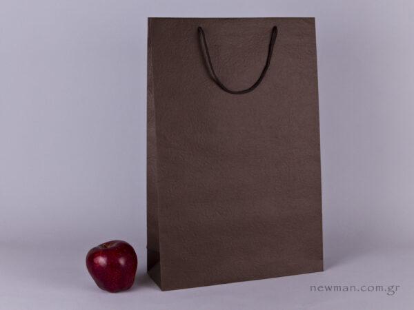 TLB 10 - ανάγλυφη τσάντα χάρτινη ΚΑΦΕ