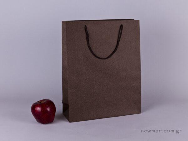 TLB 09 - ανάγλυφη τσάντα χάρτινη ΚΑΦΕ