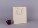 TLB 08 – ανάγλυφη τσάντα χάρτινη ΕΚΡΟΥ
