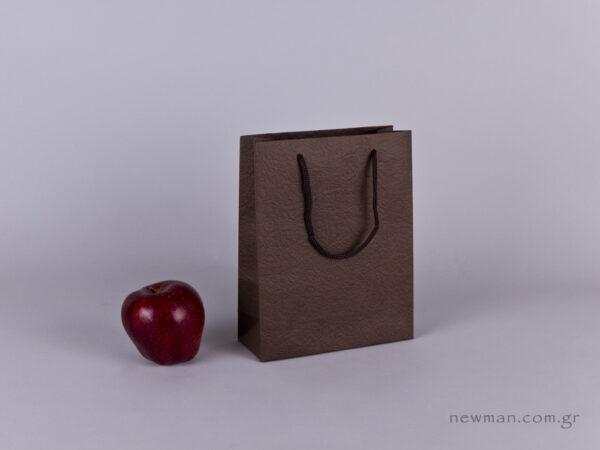 TLB 07 - ανάγλυφη τσάντα χάρτινη ΚΑΦΕ