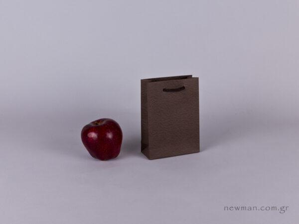 TLB 06 - ανάγλυφη τσάντα χάρτινη ΚΑΦΕ