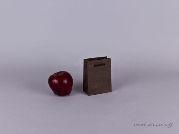 TLB 01 - ανάγλυφη τσάντα χάρτινη ΚΑΦΕ
