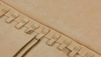 Πανί φαρδύ με 20 κουμπιά για αλυσίδες